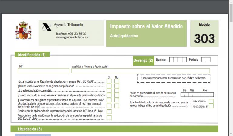 Alta Online como Empresario Individual(Autónomo ó Freelance).