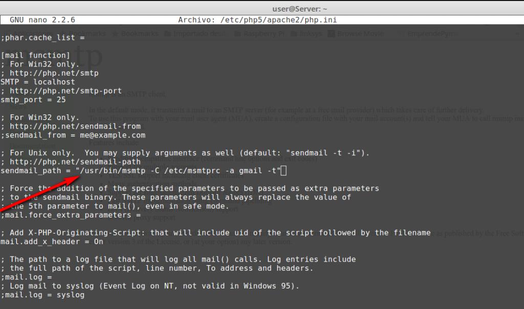 Envio de correo con AWS EC2 Ubuntu 14.04 en WordPress