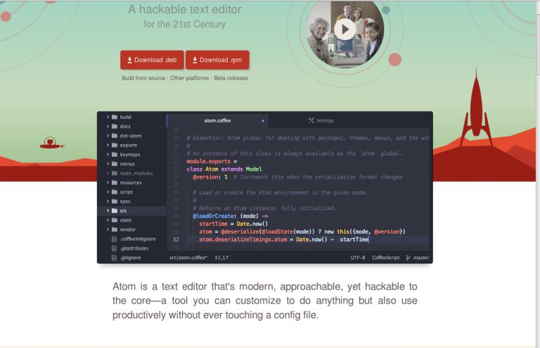 Atom Editor + SFTP