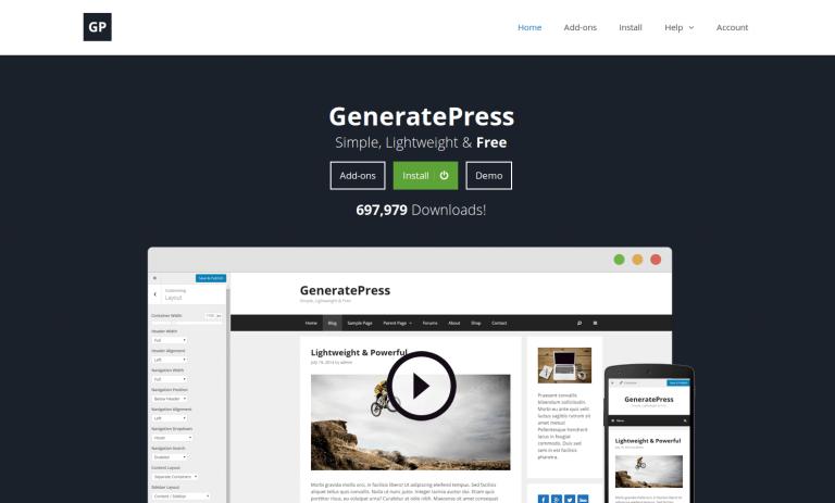 Plugins imprescindibles para la plantilla GeneratePress